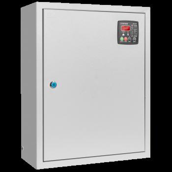 Блок автоматического ввода резерва 380/220В до 63А, переключатель с приводом, ЗУ 12В/5А, возможность автоматического запуска генератора