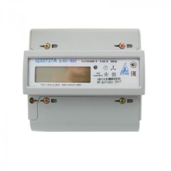 Счетчик электроэнергии трехфазный ЦЭ2727А S RF 5(60)A R02