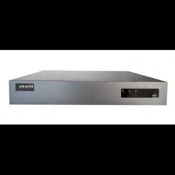 IP-видеорегистратор Линия NVR H.265 для IP-видеокамер. Количество каналов: видео - 32, аудио - 32, 4HDD общим объемом до 48Тб (имеет потертости)