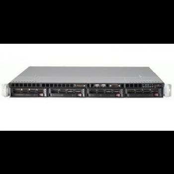 Сверхтонкий видеосервер Линия NVR-128 1U для IP-видеокамер. Количество каналов: видео - 128, аудио - 128, до 4 HDD, 1 источник питания.