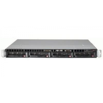 Сверхтонкий видеосервер Линия NVR-64 1U для IP-видеокамер. Количество каналов: видео - 64, аудио - 64, до 4 HDD, 1 источник питания.