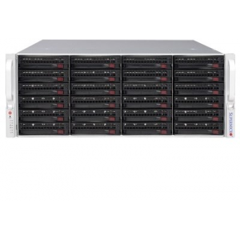 Комплексное программно-аппаратное решение по организации хранения архива Линия SAN 16 х SATA. 16 HDD, 96 Тб(без Raid), 84 Тб(Raid z), 48 Тб(Raid 10)
