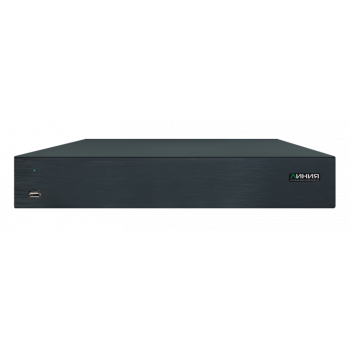 Мультиформатный видеорегистратор Линия XVR 8 H.265 для аналоговых и IP-видеокамер. Количество каналов: видео - 8, 2HDD общим объемом до 24Тб, H.265