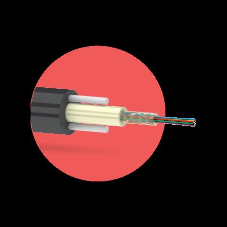 Кабель оптический ОКДК-2Д 4 G.657.А1 1кН