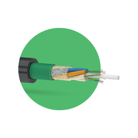 Кабель оптический ОКК 16 G.652D (4х4) 2,7кН