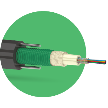 Кабель оптический ОККЦ 4 G.652D 2,7кН