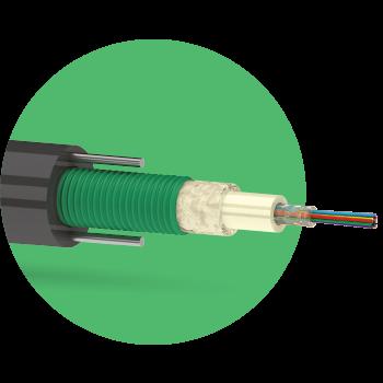 Кабель оптический ОККЦ 6 G.652D 2,7кН
