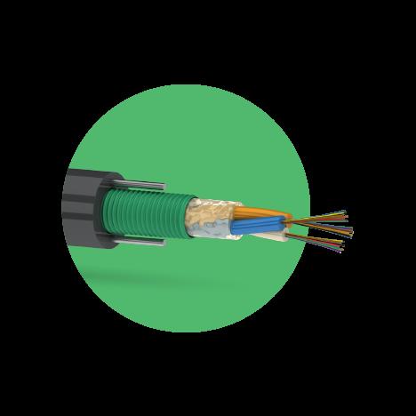 Кабель оптический ОКК-Л 12 G.652D (3х4) 2,7кН
