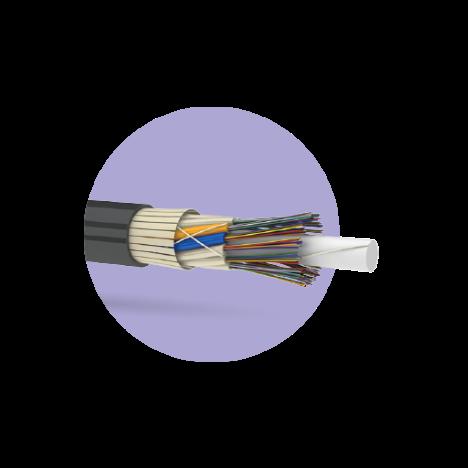 Кабель оптический ОКУ 144 G.652.D (6х24)-1,5кН