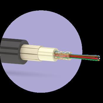 Кабель оптический ОКЦ 02 G.657.A1-1кН