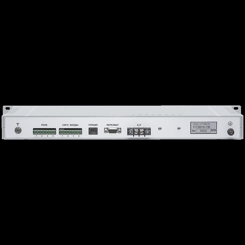 Выносной модуль проводного вещания Отзвук-ПВ-30 IP УКВ+FM AUX