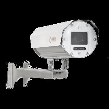 Взрывозащищенная камера Релион-А-300-ИК, 4Мп, вариоф. объектив 2,8-11 мм, ИК-подсветка до 60м, РоЕ, IP68, марк. взрывозащиты 1ExdIICТ5/Т6
