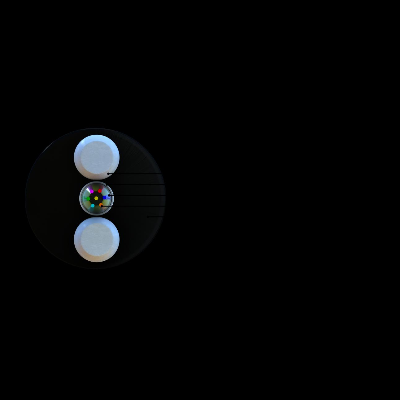 Кабель оптический СЛ-ОКПЦ-Д2к-4Е2-3,0