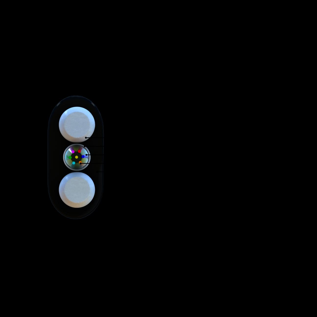 Кабель оптический СЛ-ОКПЦ-Д2-1Е2-1,5