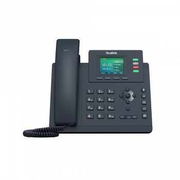 IP-телефон Yealink SIP-T33P, цветной экран, 4 аккаунта, PoE