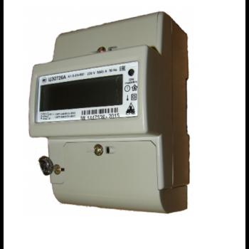 Счетчик электроэнергии однофазный ЦЭ2726А S RF 5(60)A R03. Оптопорт, встроенное реле