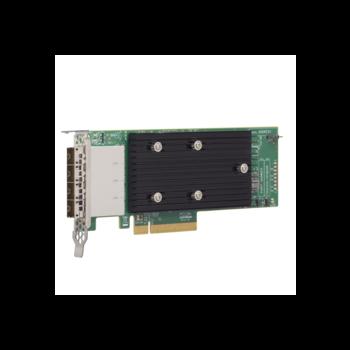 HBA-адаптер LSI 9305-16e SGL, 12Gb/s SAS/SATA  16-port ext
