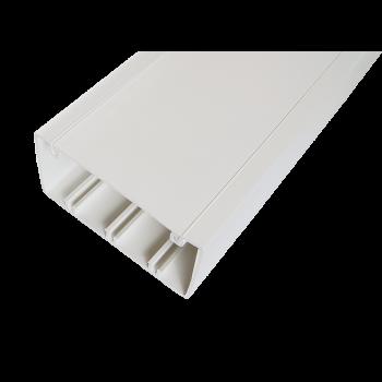 Кабельный канал с крышкой 100х50х2000мм (белый)