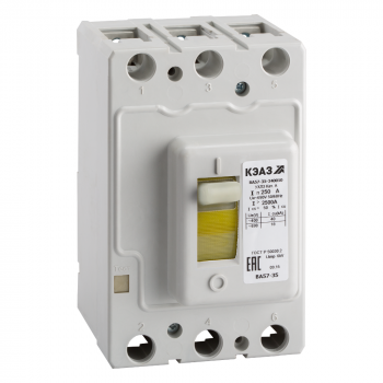 Выключатель автоматический ВА57-35-640010-63А-800-440DC-УХЛ3-КЭАЗ