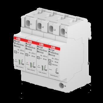 Устройство защиты от импульсных перенапр. (УЗИП) OVR T2 3N 40-275 P QS ABB 2CTB803973R1100