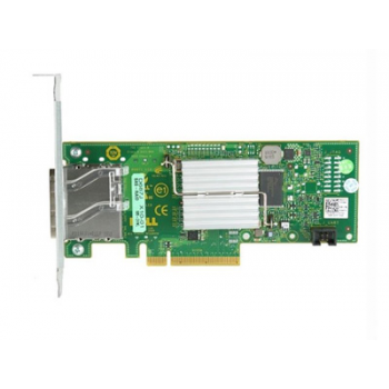 Адаптер шины Dell 6Gb SAS HBA, Dual Port