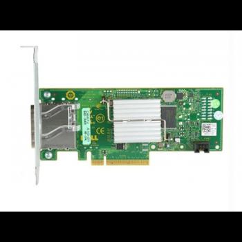 Адаптер шины Dell 6Gb SAS HBA, Dual Port