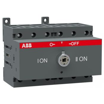 Рубильник реверсивный OT63 F3C 63А (45А AC23) ABB 1SCA105338R1001