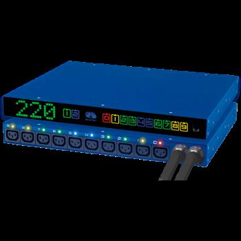 Модуль удалённого управления питанием Resilient Power Control Module 32A (RPCM 32A), после теста