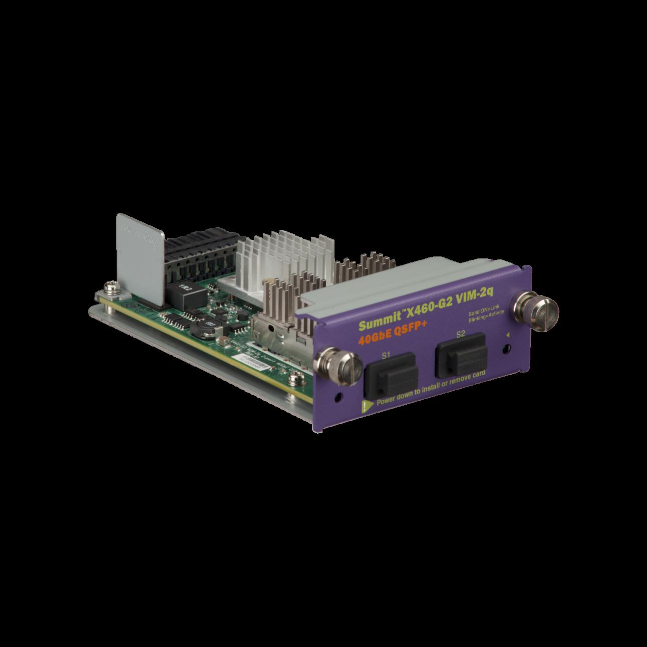 Модуль для коммутаторов Extreme Summit  X460-G2 VIM-2q