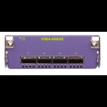 Модуль VIM4-40G4X для коммутаторов Extreme Summit X670V