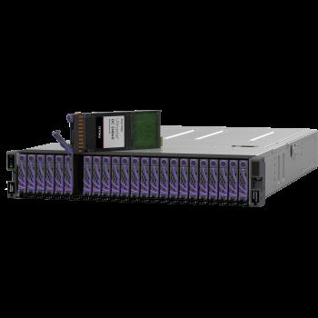 Дисковая полка WD Data24, 6x100GbE NVMe-oF, 24 отсека U.2, 368,64TB