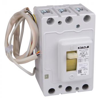 Выключатель автоматический ВА57-35-621810-40А-440DC-НР230AC/220DC-УХЛ3-КЭАЗ