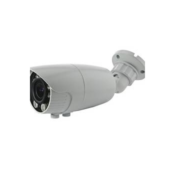 IP камера уличная 1080p, c ИК подсветкой, 2.8-12мм, PoE,аудио входом, с кронштейном, 12В выход (следы скотча на упаковке)