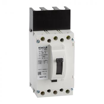 Выключатель автоматический ВА57-31-840010-80А-1200-220DC-УХЛ3-КЭАЗ