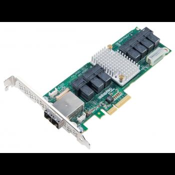 Expander жестких дисков Adaptec AEC-82885T SGL (SAS12G, 28int (7xSFF8643), 8ext(2xSFF8644), Каб.отд)