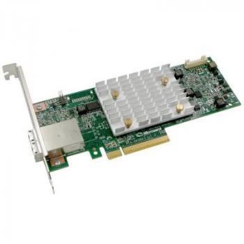 RAID-контроллер Adaptec 3154-8e, 12Gb/s SAS/SATA 8-port ext, cache 4GB