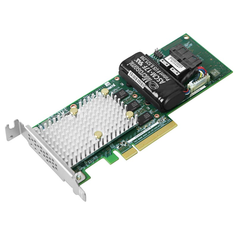 RAID-контроллер Adaptec 3162-8i, 12Gb/s SAS/SATA 8-port int, cache 2GB