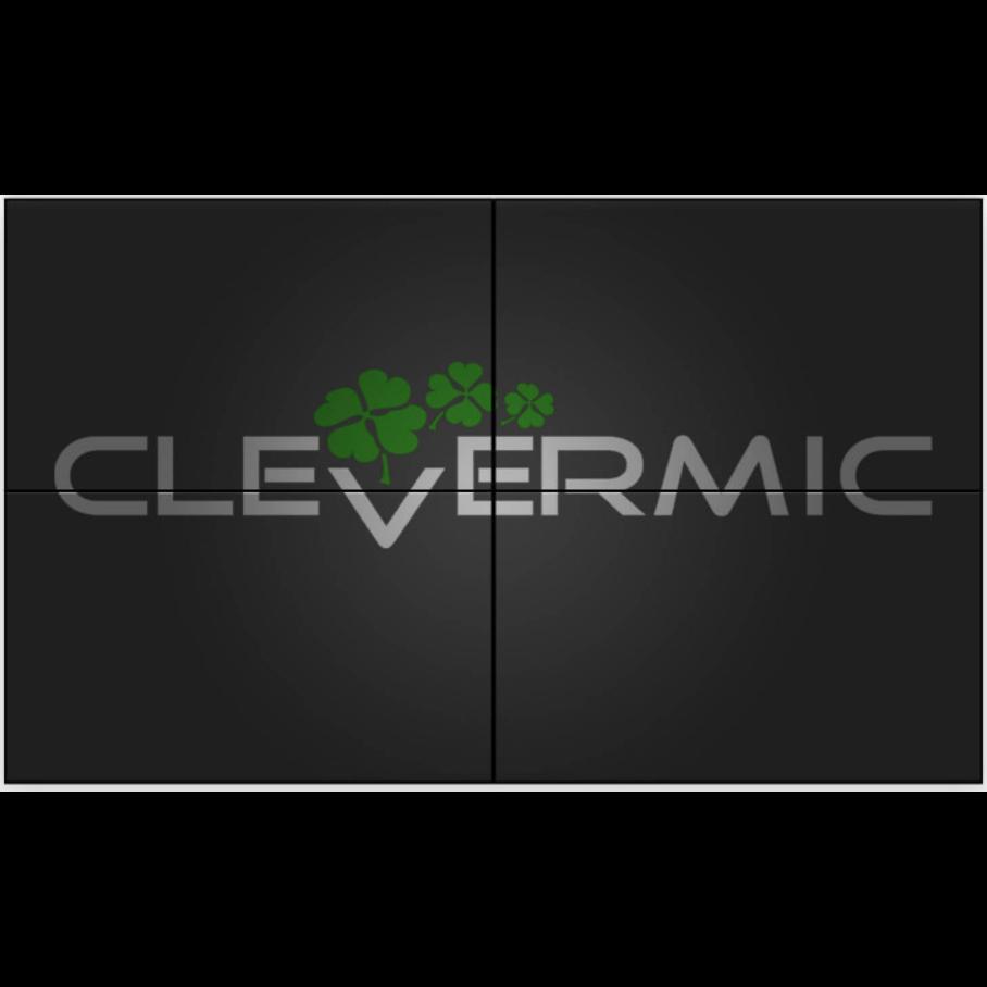 """Видеостена 2x2 CleverMic W49-3.5-500 (FullHD 98"""")"""
