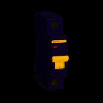 Выключатель автоматический модульный 1п C 3А 4.5кА ВА47-29 ИЭК MVA20-1-003-C