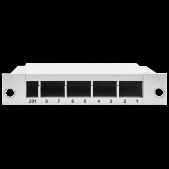 Пластиковая кассета для оптических распределительных коробок 8 портов SC