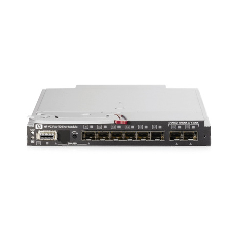 Коммутатор HP Virtual Connect Flex-10 10Gb Ethernet для BladeSystem c-Class