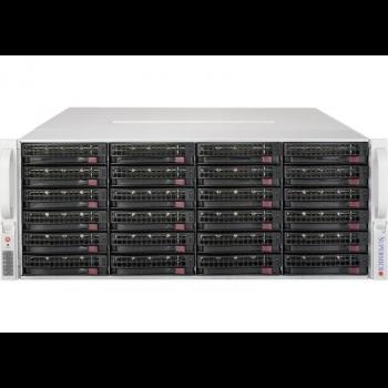 Сервер Supermicro SuperStorage 5048R-E1CR36L, 1 процессор Intel 8C E5-2620v4 2.10GHz, 16GB DRAM