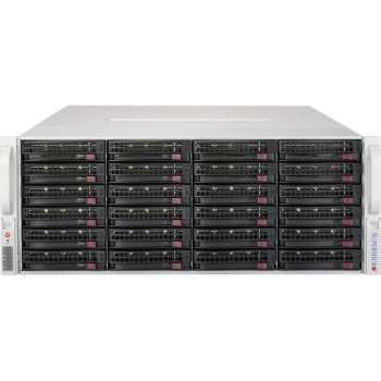 Сервер Supermicro SuperStorage 5048R-E1CR36L, 1 процессор Intel 8C E5-2620v4 2.10GHz, 16GB DRAM