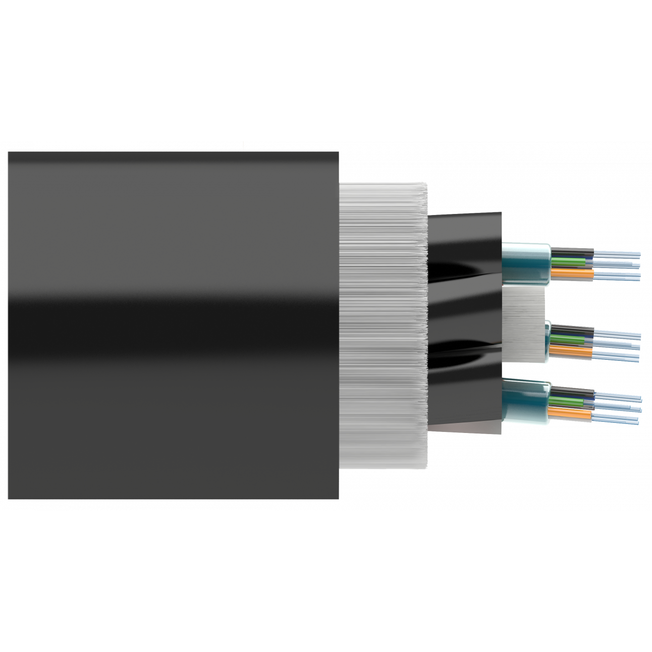 Кабель оптический Alpha Mile ADSS, 2 волокна