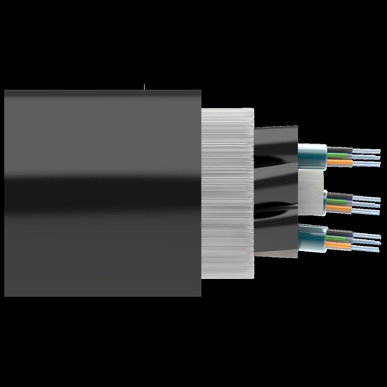 Кабель оптический Alpha Mile ADSS, 6 волокон