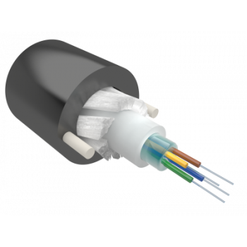 Кабель оптический Alpha Mile Микро ADSS, 04 волокна