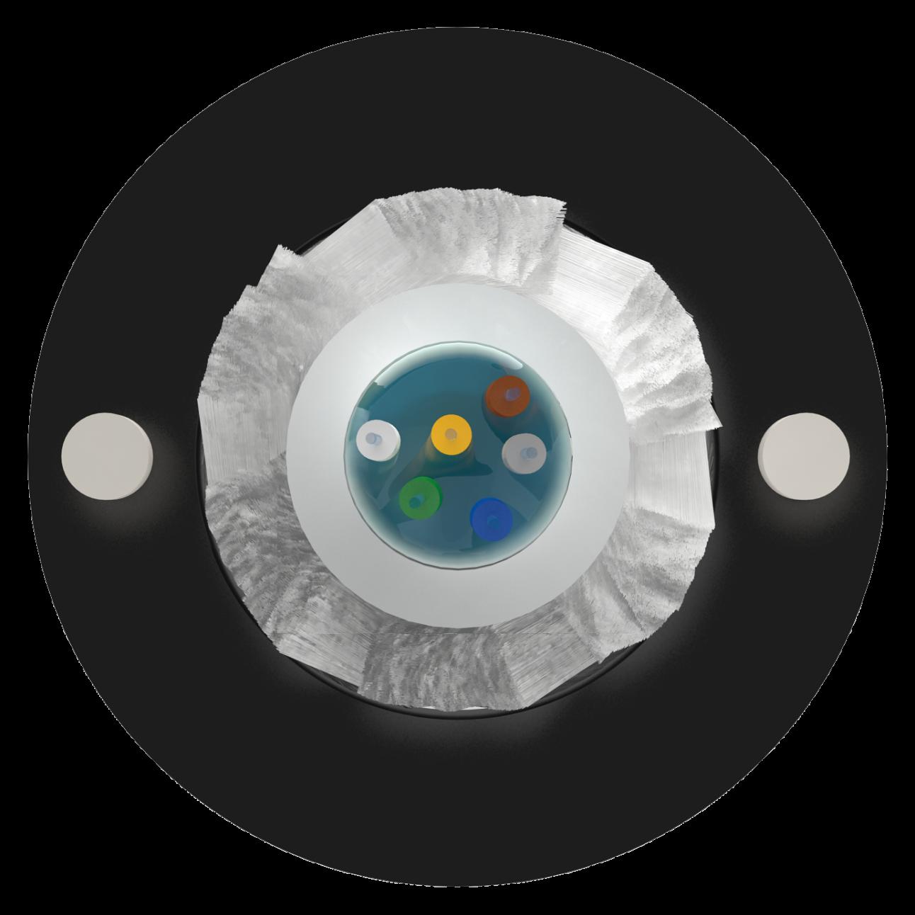 Кабель оптический Alpha Mile Микро ADSS, 06 волокон