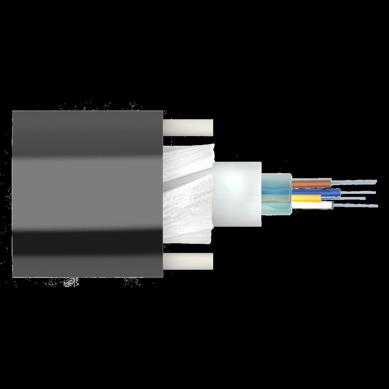 Кабель оптический Alpha Mile Микро ADSS, 08 волокон