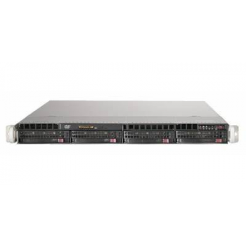 Сервер Supermicro SuperServer 6018R-MTR, 1 процессор Intel 8C E5-2620v4 2.10GHz, 32GB DRAM