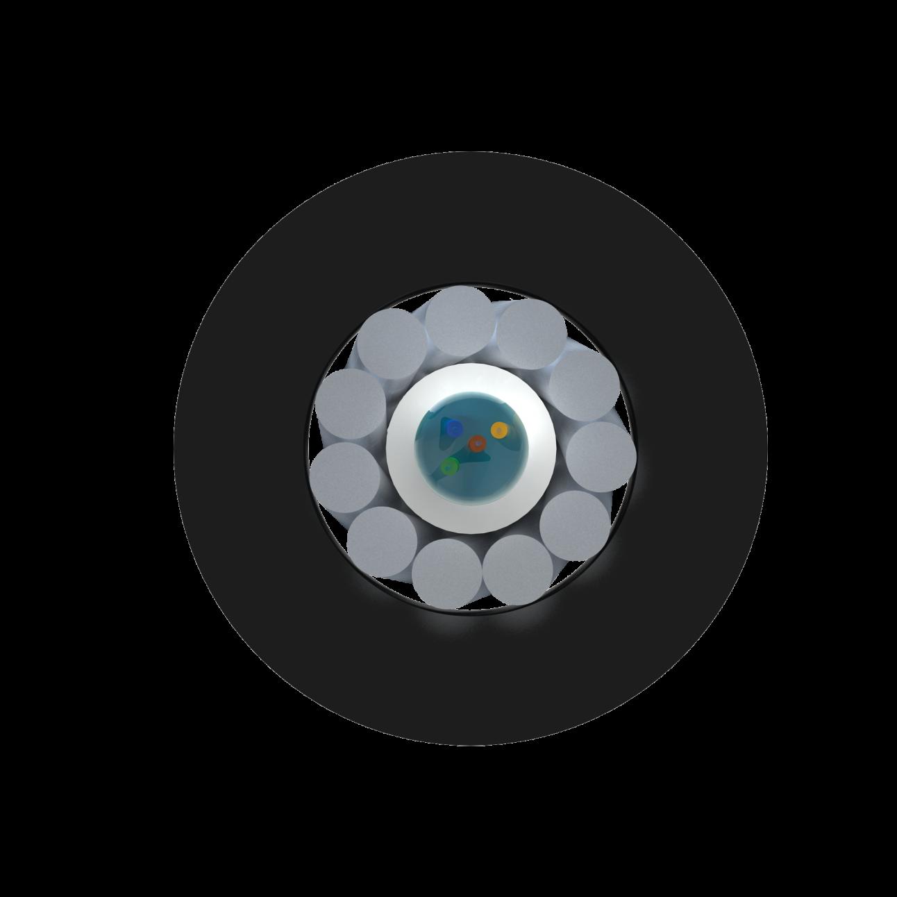 Кабель оптический Alpha Mile для канализации, 04 волокна